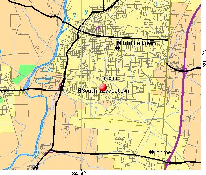 map of middletown ohio middletown oh pictures posters news and on your