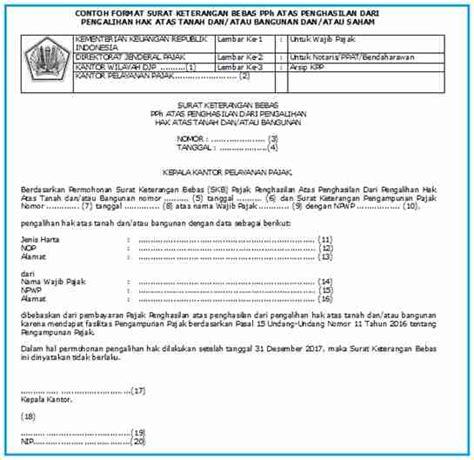 Surat Kuasa Tax Amnesty Badan by Surat Keterangan Bebas Dalam Rangka Amnesti Pajak Ortax
