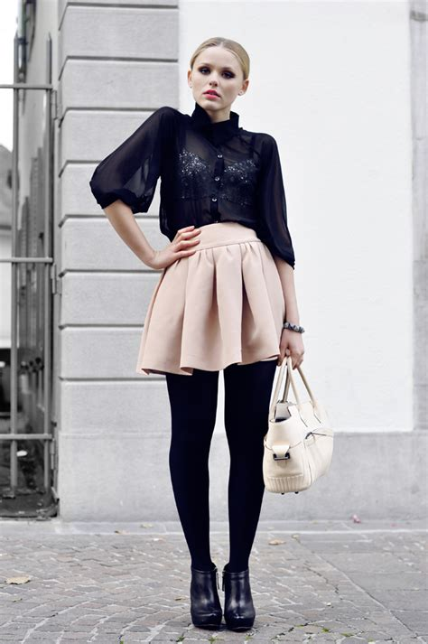 Black Bra Sheer White Blouse by 7 Fashion Faux Pas Made Trendy On The Streets Glam Radar