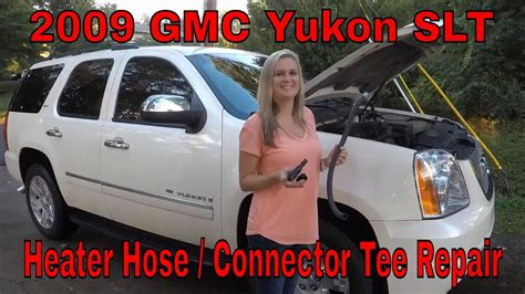 how to fix cars 2009 gmc yukon engine control diy how to repair 2009 gmc yukon heater hose tee connector chevy gm youtube