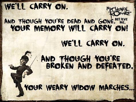 black parade lyric welcome to the black parade my chemical romance lyrics