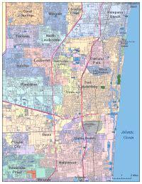 editable fort lauderdale fl city map illustrator pdf