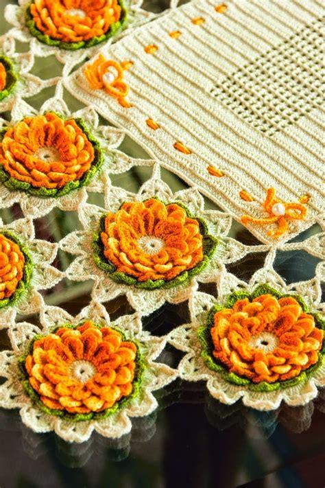 centro tavola all uncinetto uncinetto e crochet centro tavola all uncinetto con le
