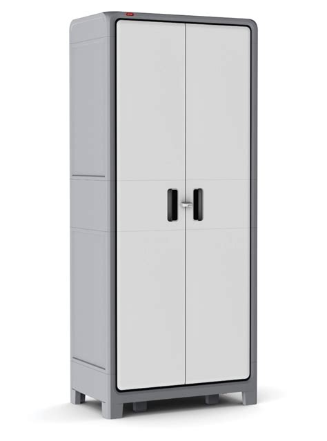 tall garage storage cabinets with doors plastic storage cabinet tall cupboard pantry home garage