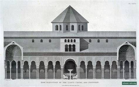 plans elevations sections and details of the alhambra the alhamra at granada