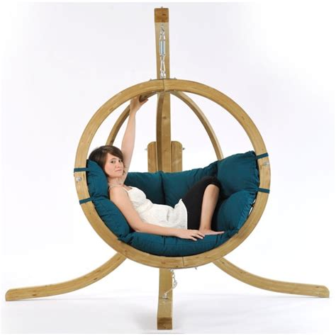 globo swing chair globo single pod chair only green the garden factory