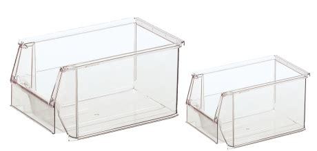 cassette bocca di lupo contenitori a bocca di lupo in plastica trasparente