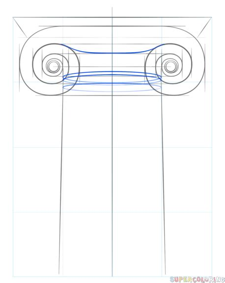 ionic tutorial step by step how to draw the ionic column step by step drawing tutorials