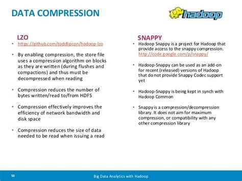 github tutorial for hadoop data compression lzo https github com toddlipcon