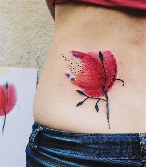 watercolor tattoos cons bumpkin studio a great place to get a colorful