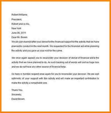Sap Financial Aid Appeal Letter Exle 9 Sap Appeal Letter Quote Templates
