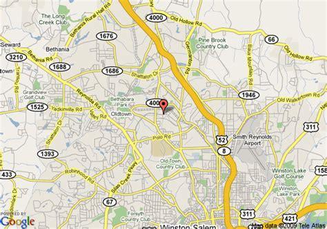 map of crossland pkwy winston salem