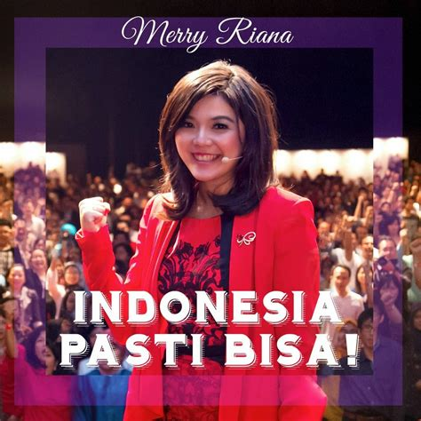 sejuta suluh kata bijak merry riana indonesia  bisa