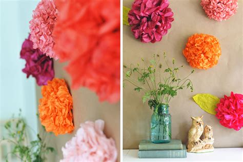 How To Make Paper Flower Backdrop - diy tissue paper flower backdrop