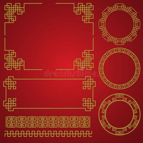 new year elements vector free new year border vector elements stock vector