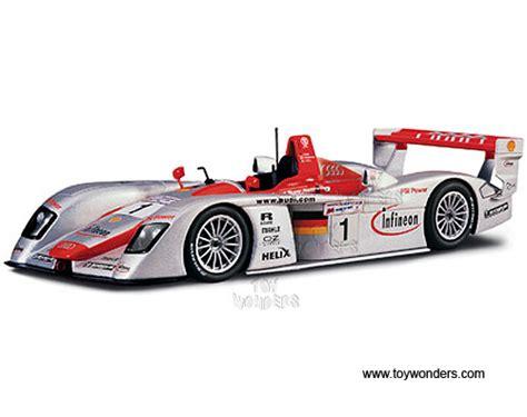 2002 Infineon Audi R8 Le Mans Race Car #1 38659/1 1/18 scale Maisto GT Racing wholesale diecast