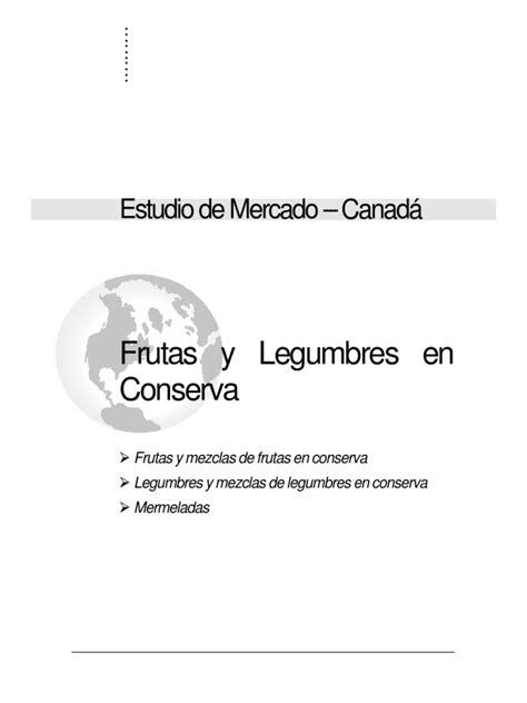 Frutas y Legumbres en Conserva Canada | Distribución