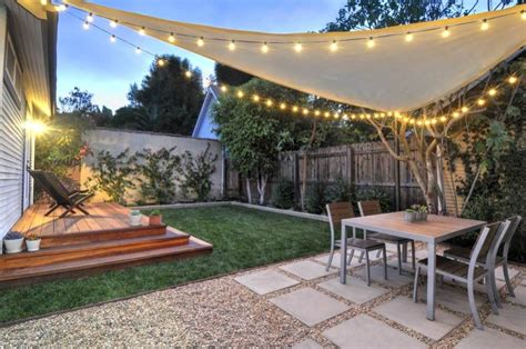 Patio Ideas For Small Backyard Small Backyard Hill Landscaping Ideas To Get Cool Backyard Landscaping Jpeg 1 000 215 664 Pixels