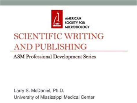 scientific paper writing course ppt effective scientific writing publishing and