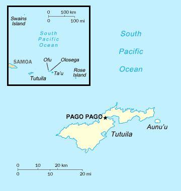 map of samoa and american samoa map of american samoa american samoa map vidiani
