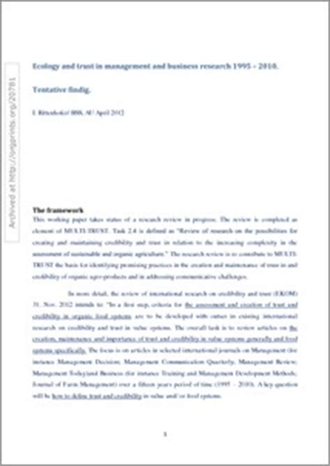 Research Paper Analysis Of Findings by Findings In Research Paper