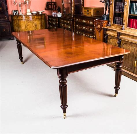 regency mahogany dining table antique regency mahogany dining table manner of gillows