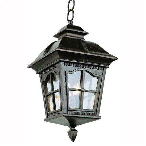 Bel Air Outdoor Lighting Bel Air Lighting Bostonian 4 Light Outdoor Hanging Antique Rust Lantern With Water Glass 5426 Ar