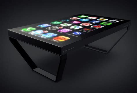 Table. Touch Screen Table   Table idea for your Home