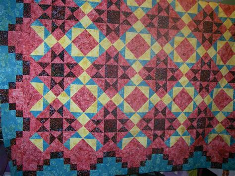 Debbie Caffrey Mystery Quilts by Cat Song Stitchery Mystery Quilt