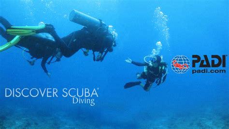 padi dive discover scuba diving