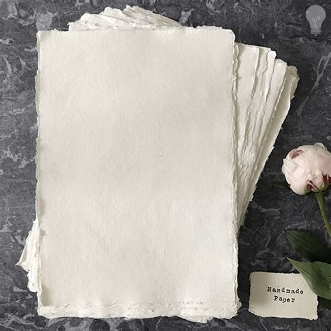 Handmade Paper Uk Suppliers - handmade paper white a4 imagine diy