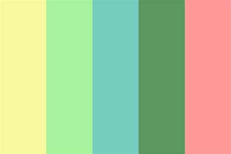 what color is healthy healthy growth color palette