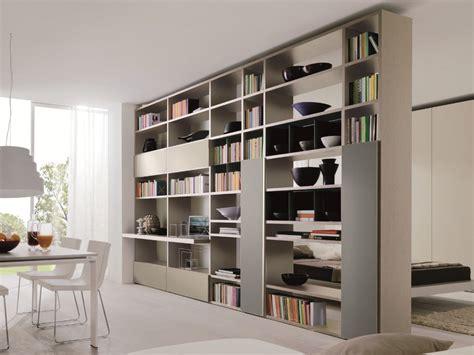 librerie zalf libreria bifacciale componibile link system libreria
