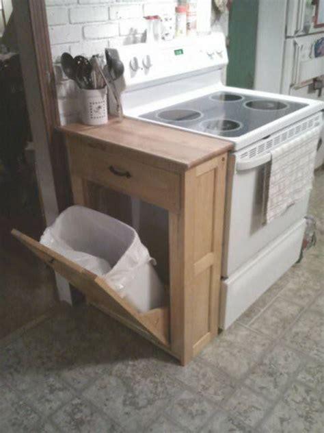 meuble cache poubelle cuisine l id 233 e d 233 co du dimanche un meuble pour dissimuler la