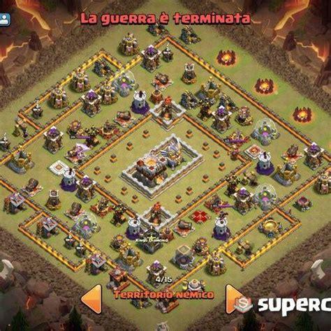 bases coc la familia clan view image 10 layout th11 war base e farming base con torre