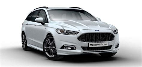 Ford Europe by Ford Mondeo St Line Revealed In Europe Ford Authority