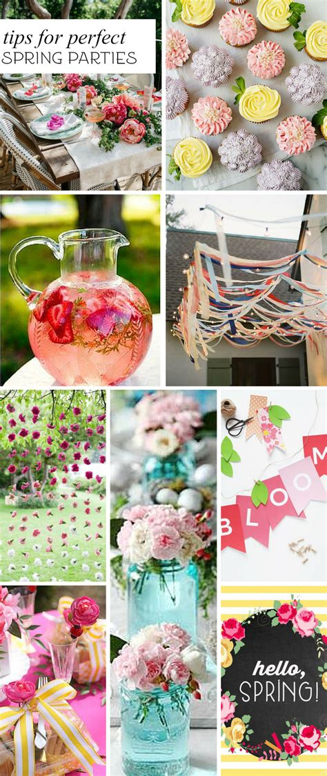 spring themed work events 7 tips for fabulous spring parties pizzazzerie