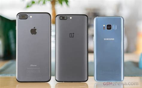 oneplus 5 vs galaxy s8 vs iphone 7 plus conclusion