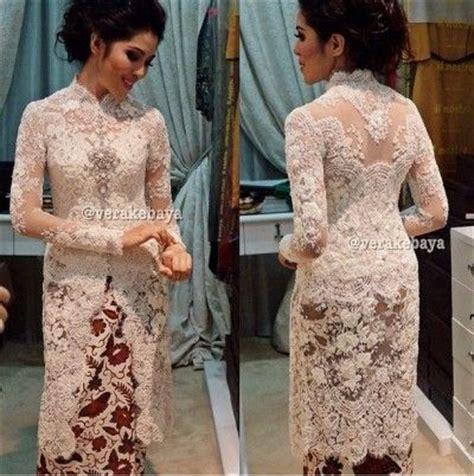 Baju Nikah Vera Kebaya 1000 images about kebaya on javanese lace and kimonos