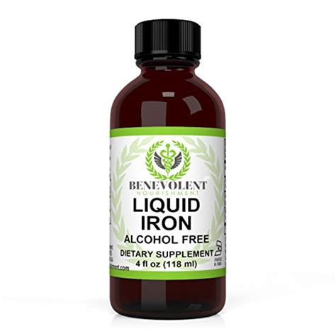 Which Iron Supplement Is Best - top 5 best liquid iron supplements for anemia for sale