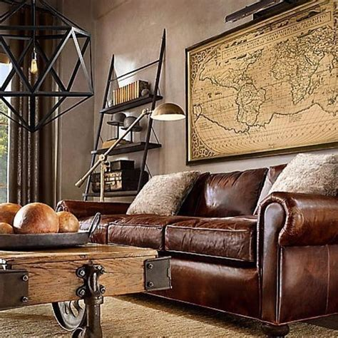 rustic industrial living room best 25 rustic industrial ideas on rustic