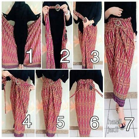 tutorial menggunakan kain batik menjadi rok pesona rok batik lilit baju grosir jogja baju grosir jogja