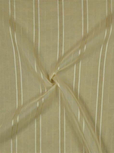 Polyester Sheer Curtains Qy7151se Striped Polyester Custom Made Sheer Curtains