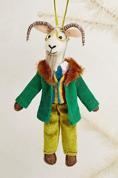 goat ornament christmas wishes pinterest coats