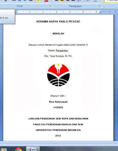 cara membuat abstrak karya ilmiah pdf membuat kata pengantar makalah bahasa indonesia membuat