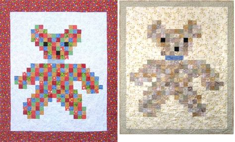 qdnw patch teddy quilt pattern