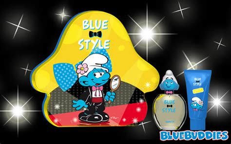 The Smurf Blue Style 3 D Vanity blue style smurf perfume