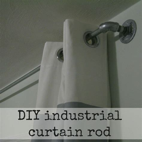 diy curtain rod 78 best images about curtains on pinterest drop cloth
