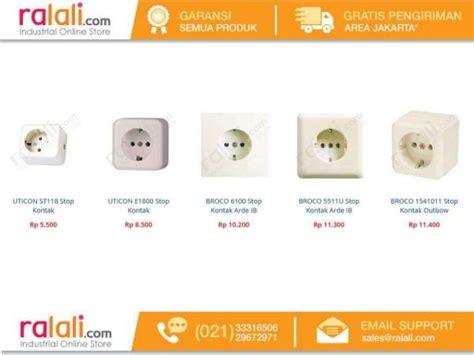 List Saklar Broco daftar harga aksesoris alat alat listrik