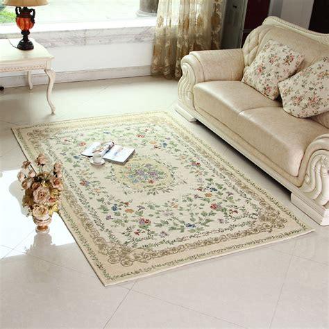 Bedroom Floor Rugs European Exquisite Non Slip Thicken Living Room Floral